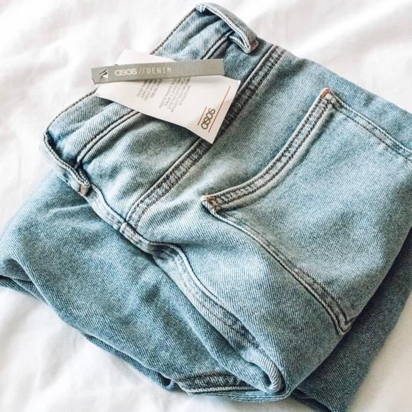 b8a566c54b ASOS Jeans | Farleigh Slim Mom | Poshmark